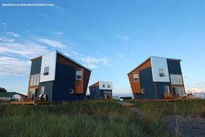 chalets à louer bord de l'eau Bonaventure, Gaspésie