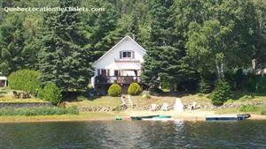 chalets à louer bord de l'eau Sainte-Émélie-de-l'Énergie, Lanaudière