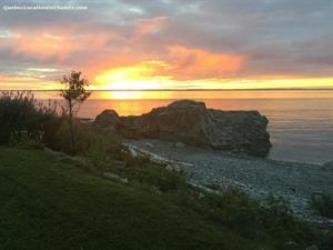 chalets à louer bord de l'eau Saint-Simon-sur-Mer, Bas Saint-Laurent