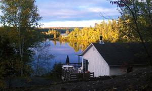 chalet à louer bord de l'eau Bégin, Saguenay-Lac-St-Jean
