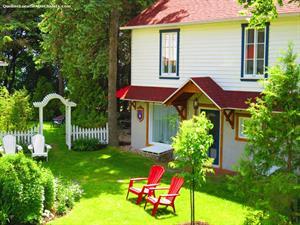 waterfront cottage rentals La Malbaie, Charlevoix