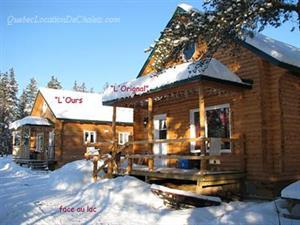 chalets en bois rond Alma, Saguenay-Lac-St-Jean