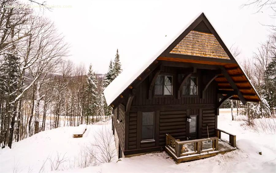 Chalet A Louer Laurentides Lac Superieur Log Cabin Mont Tremblant