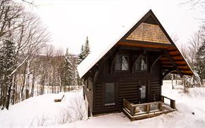 Cottage rental | Log Cabin Mont Tremblant