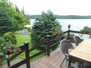 waterfront cottage rentals Sainte-Marguerite, Laurentides
