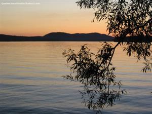 chalets avec plage privée Lac Brome, Estrie/Cantons-de-l'est