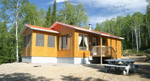 waterfront cottage rentals Essipit, Côte-Nord