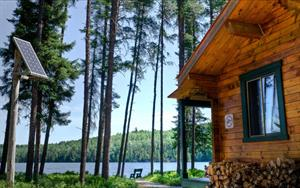 cottage rentals La Tuque, Mauricie