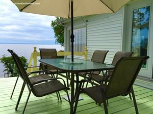 waterfront cottage rentals Saint-Henri-de-Taillon, Saguenay-Lac-St-Jean
