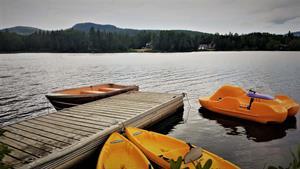 chalets à louer bord de l'eau Saint-Donat, Lanaudière