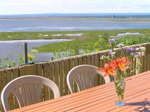 chalets à louer bord de l'eau Carleton-sur-Mer, Gaspésie