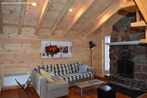 chalets ski-in/ski-out au pied des pentes  Val-David, Laurentides