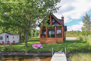 waterfront cottage rentals Beaulac-Garthby, Chaudière Appalaches