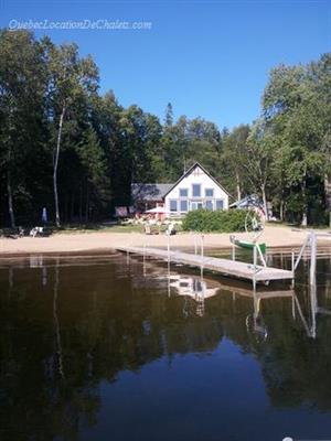 chalet à louer bord de l'eau Duhamel, Outaouais