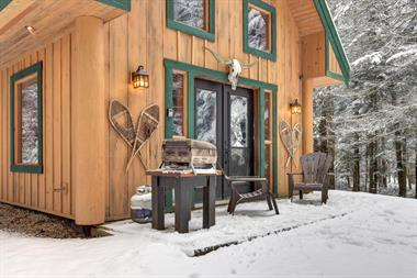Cottage rental | The Cabin with spa Mont Tremblant