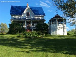 cottage rentals Sainte-Angèle-de-Mérici, Gaspésie