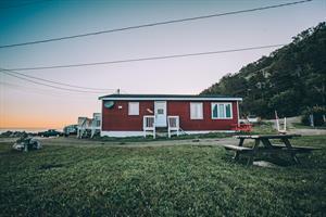 chalet à louer Les Méchins, Gaspésie