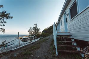chalet à louer bord de l'eau Les Méchins, Gaspésie