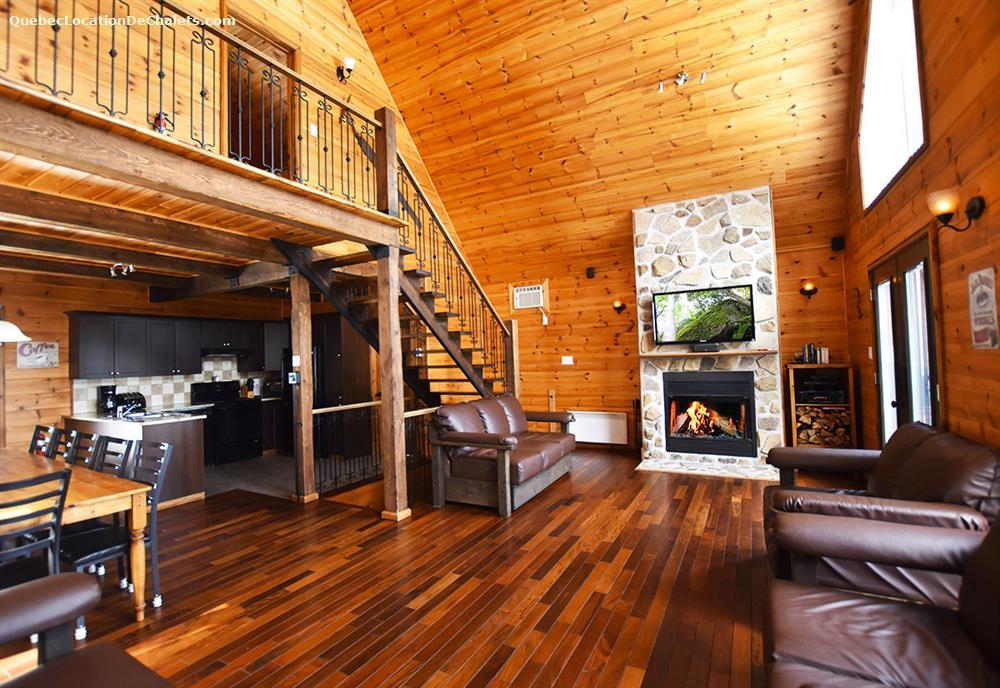 cottage rental Lanaudière, Entrelacs (pic-2)