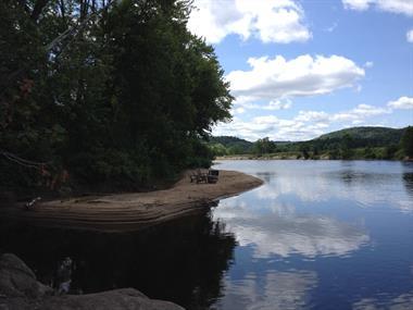 chalets à louer bord de l'eau Mont-Tremblant, Laurentides