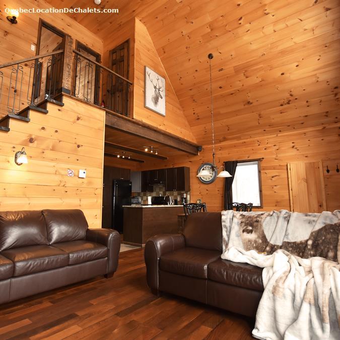 cottage rental Lanaudière, Entrelacs (pic-4)