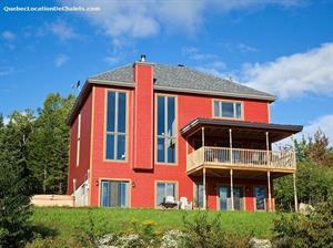 waterfront cottage rentals Petite-Rivière-Saint-François, Charlevoix