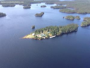 chalets à louer bord de l'eau Saint-Ludger-de-Milot, Saguenay-Lac-St-Jean