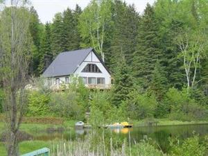 chalet à louer bord de l'eau Saint-Côme, Lanaudière
