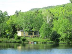 chalets à louer bord de l'eau Saint-Zénon, Lanaudière