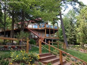 waterfront cottage rentals Bouchette, Outaouais