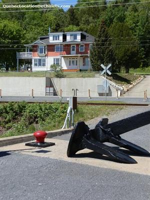 chalets à louer bord de l'eau Saint-Irénée, Charlevoix
