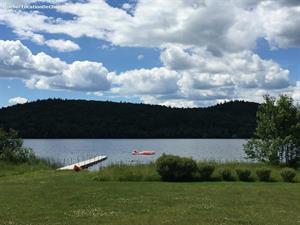 chalets à louer bord de l'eau Cayamant, Outaouais