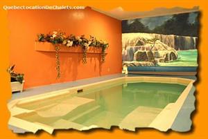 chalets avec piscine intérieure Sainte-Agathe-des-Monts, Laurentides