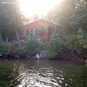 chalet a louer | Chalet sur le bord du Lac-Bouthillier