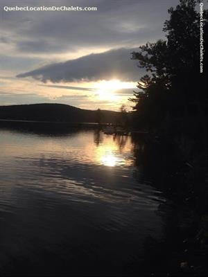 chalets à louer bord de l'eau Coaticook, Estrie/Cantons-de-l'est