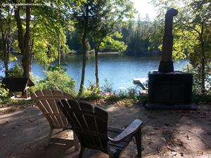 chalets bord de l'eau riverain Labelle, Laurentides