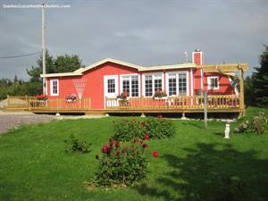 chalets à louer L'Étang-du-Nord, Îles-de-la-Madeleine