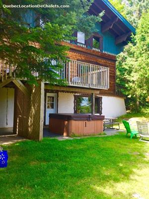 Cottage rental | Rustic chalet 24 people