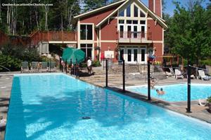 Cottage rental | (6172) Tremblant, Common Hot Tub