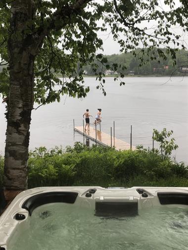 chalets avec plage privée Mandeville, Lanaudière