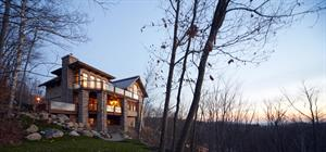 ski cottage rentals at the base of a mountain Mont-Tremblant, Laurentides