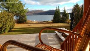 waterfront cottage rentals Val-des-Lacs, Laurentides