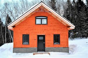 ski cottage rentals at the base of a mountain L'Anse-Saint-Jean, Saguenay-Lac-St-Jean