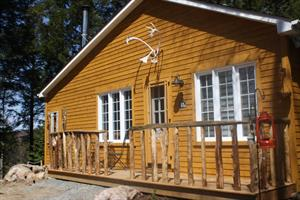 Cottage rental | New log cabin