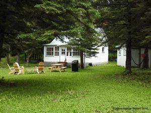 waterfront cottage rentals Métis-sur-Mer, Gaspésie
