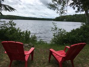 chalet à louer bord de l'eau Aumond, Outaouais