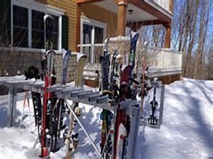 chalets au pied des pentes de ski Bromont, Estrie/Cantons-de-l'est