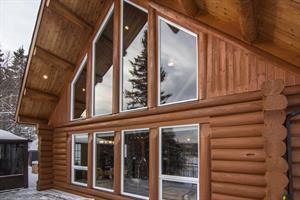 chalets en bois rond Saint-David-De-Falardeau, Saguenay-Lac-St-Jean