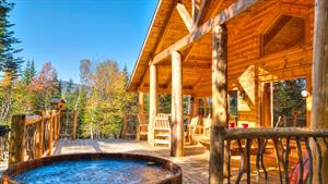 Cottage rental | Le Bivouac SPA, First nation inspiration