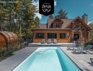 chalets en bois rond Morin-Heights , Laurentides